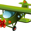 Cartoon airplane - Image vectorielle