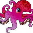 Royalty-Free Stock Vector Image: Cartoon octopus