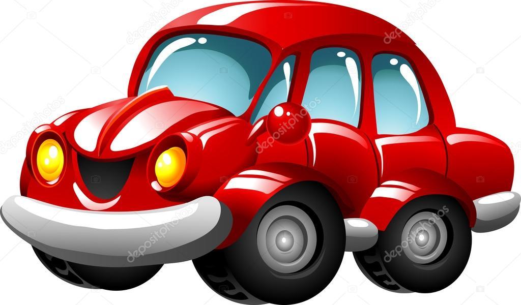 voiture cartoon rouge image vectorielle ledav 18225169. Black Bedroom Furniture Sets. Home Design Ideas