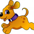 Stock Vector: Cartoon dog