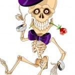 Cartoon skeleton — Stock Vector #18231273