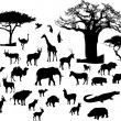 Stock Vector: Africanimals
