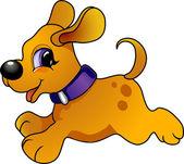 Cartoon dog — Stock Vector