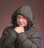 Zimní muž — Stock fotografie
