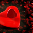 Valentine Hearts Background. — Stock Photo