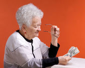 Old woman — ストック写真