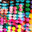 Abstract multicolor defocused background - Stock Photo