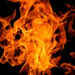 Fire flame texture background — Stock Photo