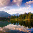 Lake Strbske pleso, High Tatras, Slovakia — Stock Photo