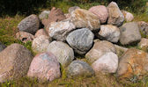 Pile of big stones — Stock Photo