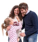 Szczęśliwe rodziny — Zdjęcie stockowe
