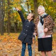 Grandmother and child — Stock Photo