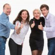 Group of happy business people — Stock Photo #34922925