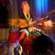Drummer on the rock concert — Stock Photo