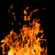 Orange fire flames — Stock Photo #35591355