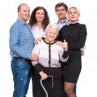 Stock Photo: Grandmother with grandchildren