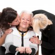 Grandmother with grandchildren — Stock Photo #35708391