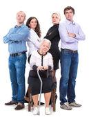 Multigeneration family — Stock Photo