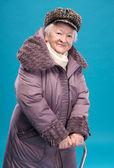 Retrato de mujer sonriente — Foto de Stock