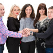 Group of happy business people — Stock Photo #38667973