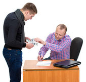 Bribery — Stock Photo
