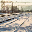 Railway junction station — Stockfoto #39667891