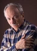 Pensive elderly man — Foto de Stock