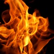Orange fire flames — Stock Photo #40486461