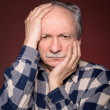 Angry elderly man — Stock Photo #40631943