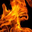 Orange fire flames — Stock Photo #40974805