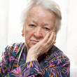 Pensive old woman — Stock Photo #41082127