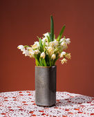Snowdrops in vases  — Foto Stock