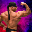 Portrait of bodybuilder — Stock Photo #48131233