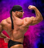 Portrait of bodybuilder — Stock Photo
