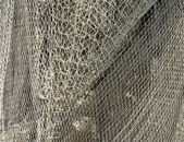 Close-up of fishing nets — Stock Photo