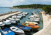 Kleine mediterrane haven — Stockfoto