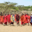 Stock Photo: Masai Tribe
