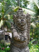 Estatua de piedra balinesa — Foto de Stock