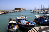 Iraklio port in Crete — Foto Stock