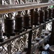 Foto de Stock  : Buddhist prayer wheels