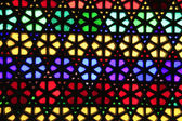 Colorful stained glass window — Stock Photo