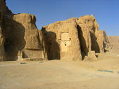 Travel Iran: Naqsh - e Rustam tomb — Stock Photo