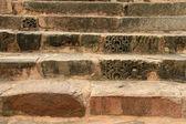 Old stone stairs in Khajuraho, India — Stock Photo