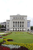 Latvian National opera building in Riga — Stock Photo