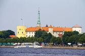 Riga livonian medieval castle — Stock Photo