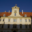 Stock Photo: Detail of Valtice palace in South Moravia