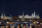 Moscow Kremlin evening view — Stock Photo