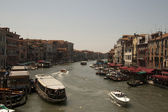 The Grand canal of Venice — Stock Photo