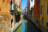The Canals Of Venice. Italy — Stock Photo