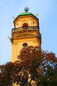 Astronomical Tower within the Klementinum located at Prague — Stock Photo
